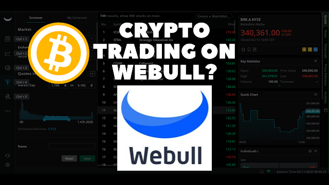 Cryptocurrency Trading Is Coming To Webull! (I Called It)