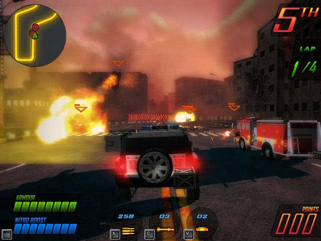 Balap Mobil Deadly Race For PC