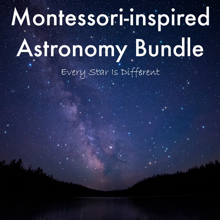 Montessori-inspired Astronomy Bundle