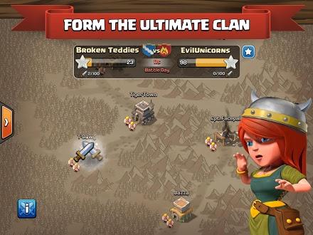 Clash of Clans Mod Apk Free