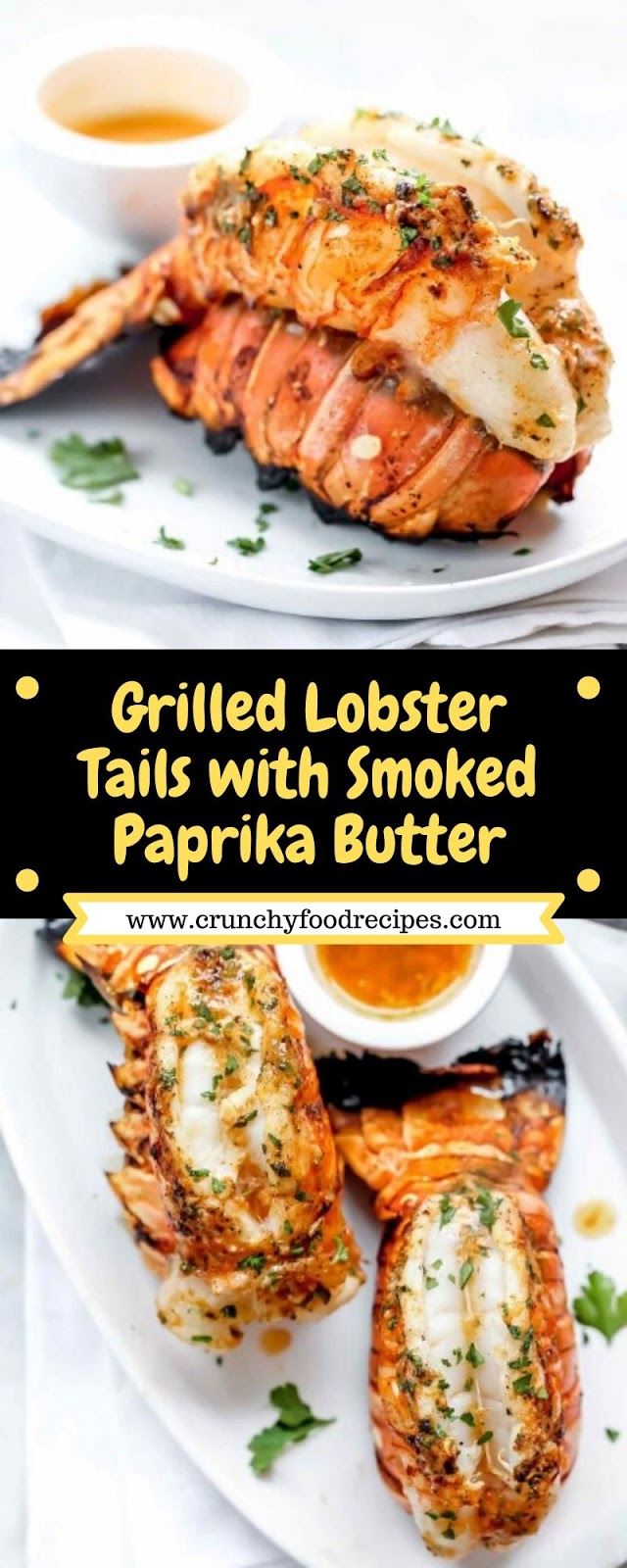 Grilled Lobster Tails with Smoked Paprika Butter