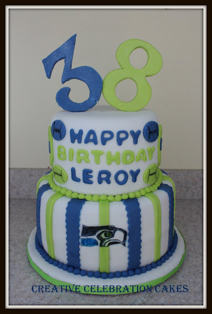 Seahawks Birthday Cake Pin Seattle And Green Bay Packers