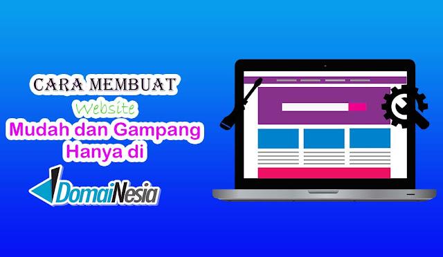 Cara Membuat Website Mudah dan Gampang