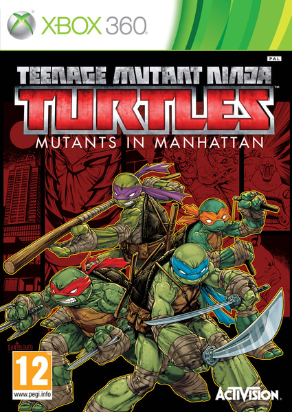 Teenage Mutant Ninja Turtles Mutants In Manhattan Xbox 360 Full Game