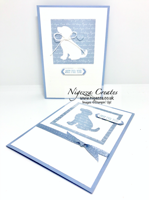 Nigezza Creates with Stampin' Up! & the Cat Punch & Dog Punch Stretch Your Stash