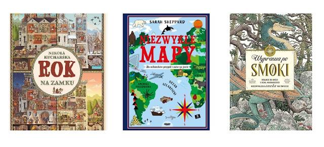 Rok na zamku, Niezwykłe mapy, Wyprawa po smoki
