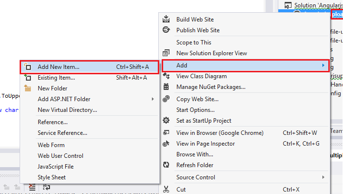 AngularJS File Upload in ASP NET using C# and VB NET