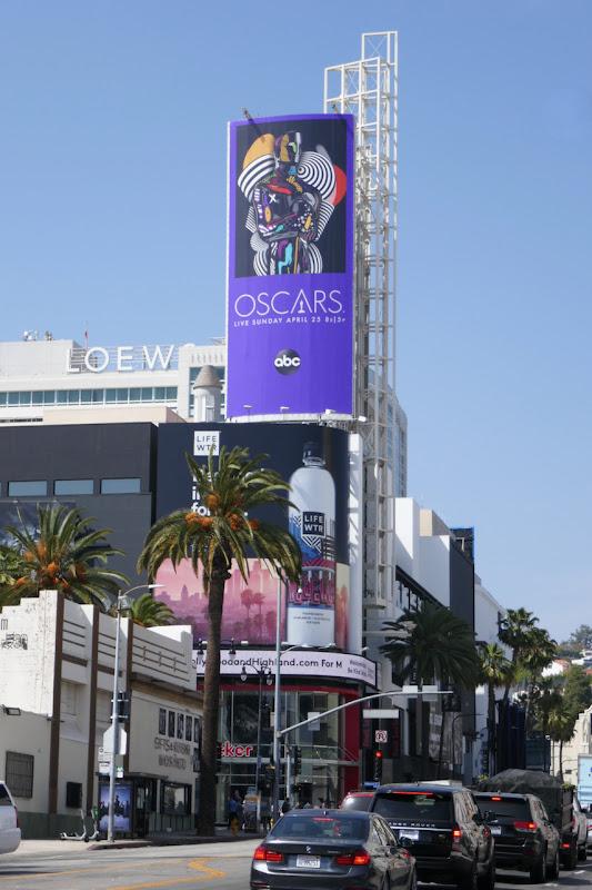 2021 Oscars billboard