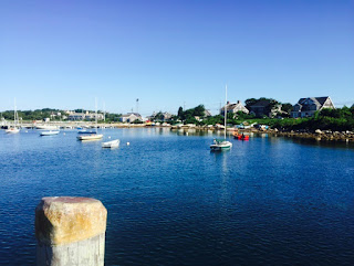 Woods Hole Harbor Cape Cod