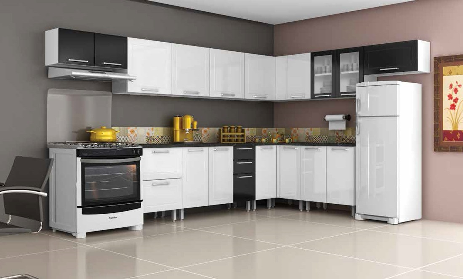 1 Measure The Place Planned For Installation Of Kitchen Modules 2 Calculate Size And Determine Number Cabinets 3 Select Color