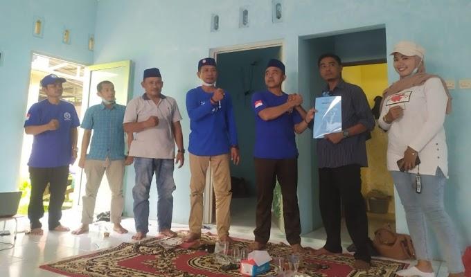 DPAC BB Perjuangan Kecamatan Pamarayan Terima SK