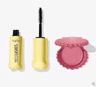 Tarte Cosmetics 2-Piece Sugar Rush Best in Class Eye & Cheek Duo (Travel Mascara & Blush Set) $5 & More + Free Shipping