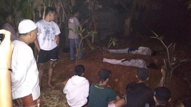 Dihukum Tidur di Kuburan, Pocong Palsu di Depok Menangis