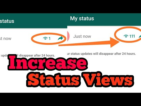 Increase WhatsApp status view, tricks and hacks 2020