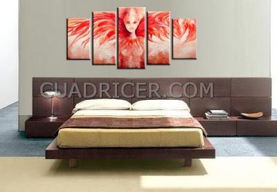 http://www.cuadricer.com/cuadros-pintados-a-mano-por-temas/cuadros-figuras/cuadro-angel-alado-rojo-fuego-moderno-dormitorios-salones-entradas-2180.html