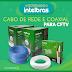 Cabo de Rede e Coaxial Intelbras para CFTV