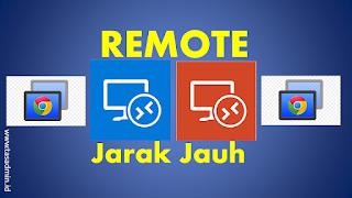 Cara Mudah Remote Laptop Jarak Jauh