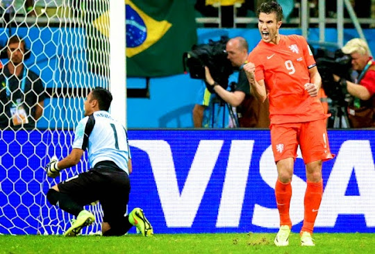 [VIDEO] Belanda - Kosta Rika (Piala Dunia 2014 Perempat Final)