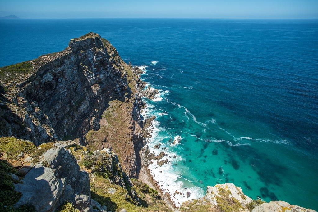 Берег Кейптауна в Южной Африке