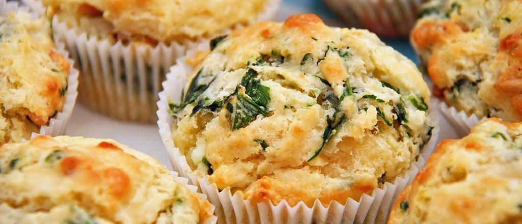 Receita de Muffin de Espinafre | Blog Vida Saudável