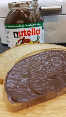 Brotkasten von Wesco mit Nutella-Aufdruck