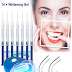 Kit Branqueamento Dentes/Gel de clareamento