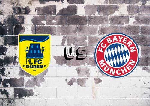 Düren Merzenich vs Bayern München  Resumen y Partido Completo