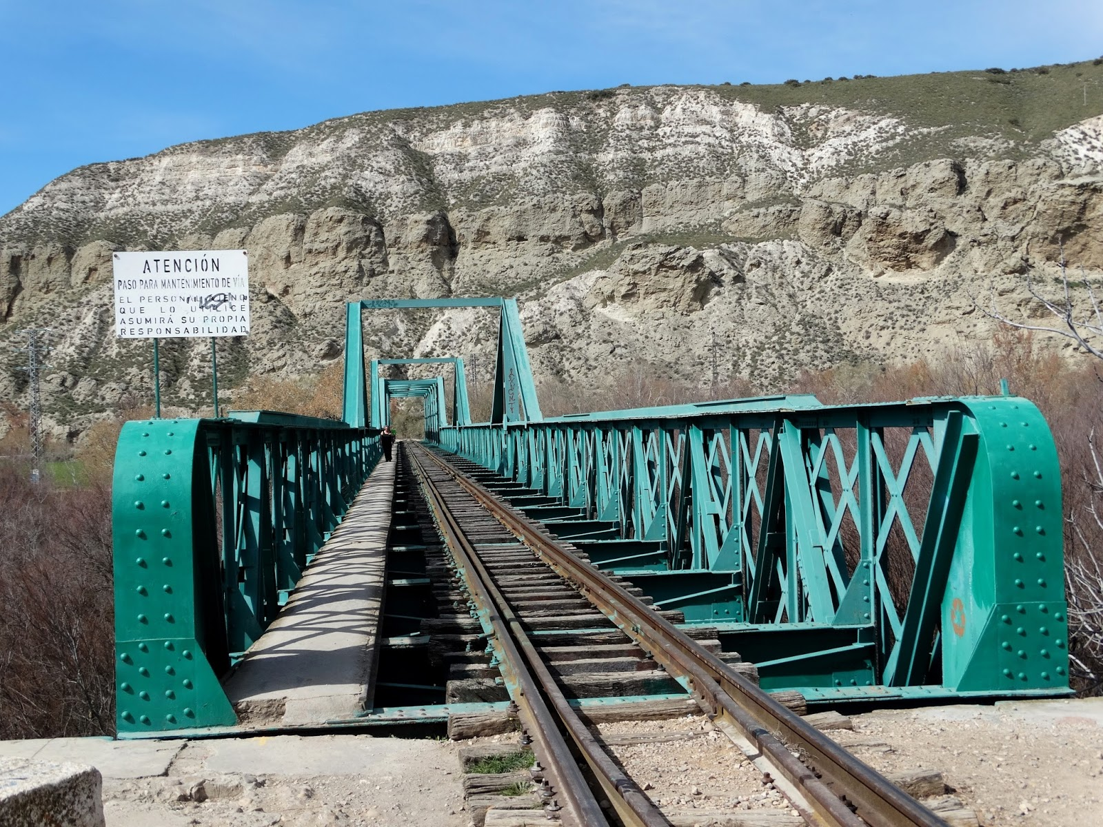 Cazando puentes puente ferroviario de arganda del rey - Que ver en arganda del rey ...