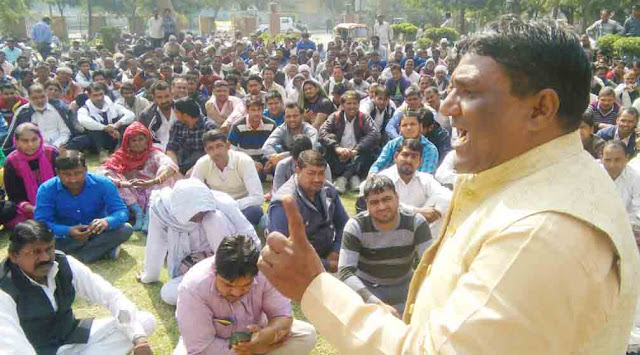 Pradhan Shastri of Napa against the government's forward-forward movement declared the movement