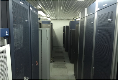 3G and 4G nodes installed in a chilled switch room
