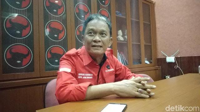 PDIP Serahkan Penanganan Pembuat Poster 'Raja Jokowi' ke TKN