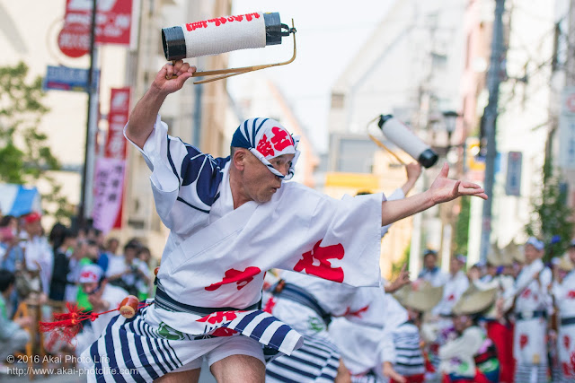 江戸っ子連、マロニエ祭り、ヒューリック浅草橋ビル前での演舞の写真 その3