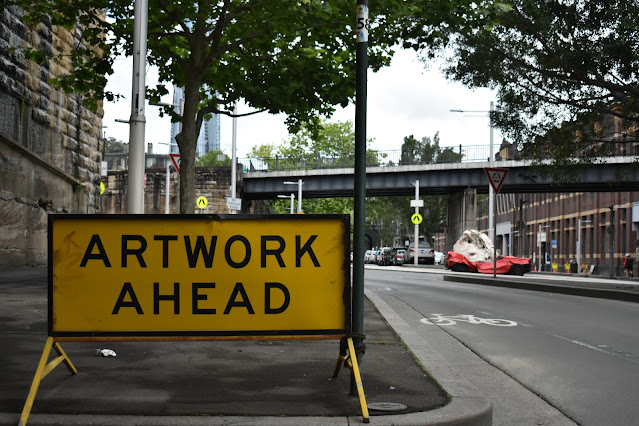 Public Art in Dawes Point by Richard Tipping