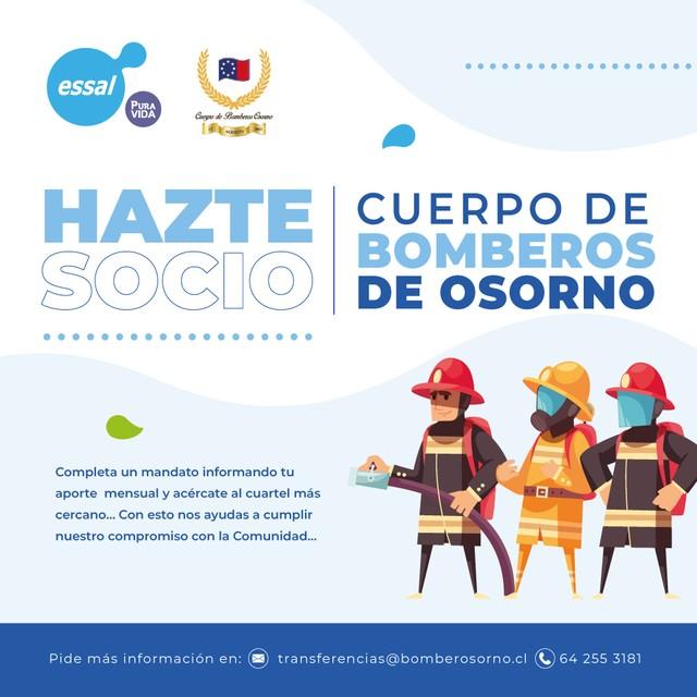Bomberos Osorno Campaña
