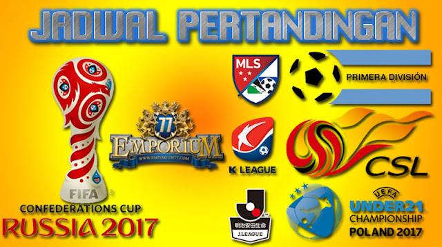 Jadwal Bola Terkini, Rabu 13-14 Desember 2017