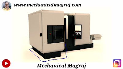 CNC LATHE MACHINE HINDI
