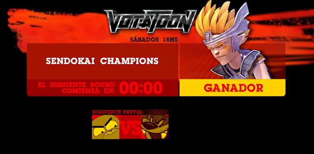 Votatoon de la Semana - Sendokai Champions