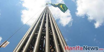 Tiang Bendera Brazil - Sekitar Dunia Unik
