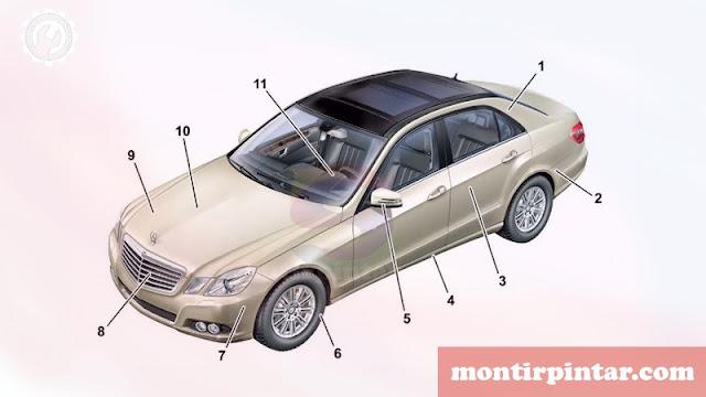 teknologi otomotif bluewfficiency pada mercy e-class W212