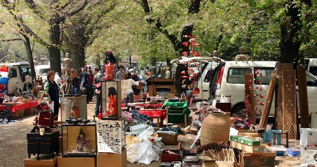 Menjelajah Pasar Loak di Tokyo Jepang