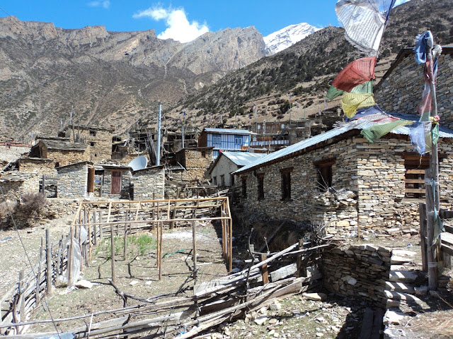 Gyaru and Ngawal village, in Manang