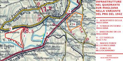 Mappa progetti complementari E42