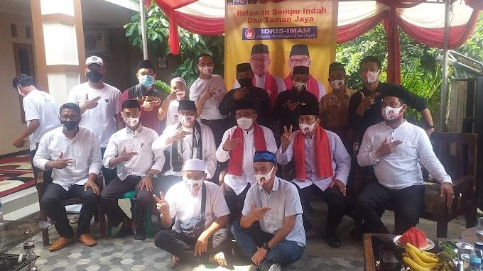 Relawan Sempu dan Taman Jaya Optimis Raih 70 Persen Kemenangan Idris-Imam