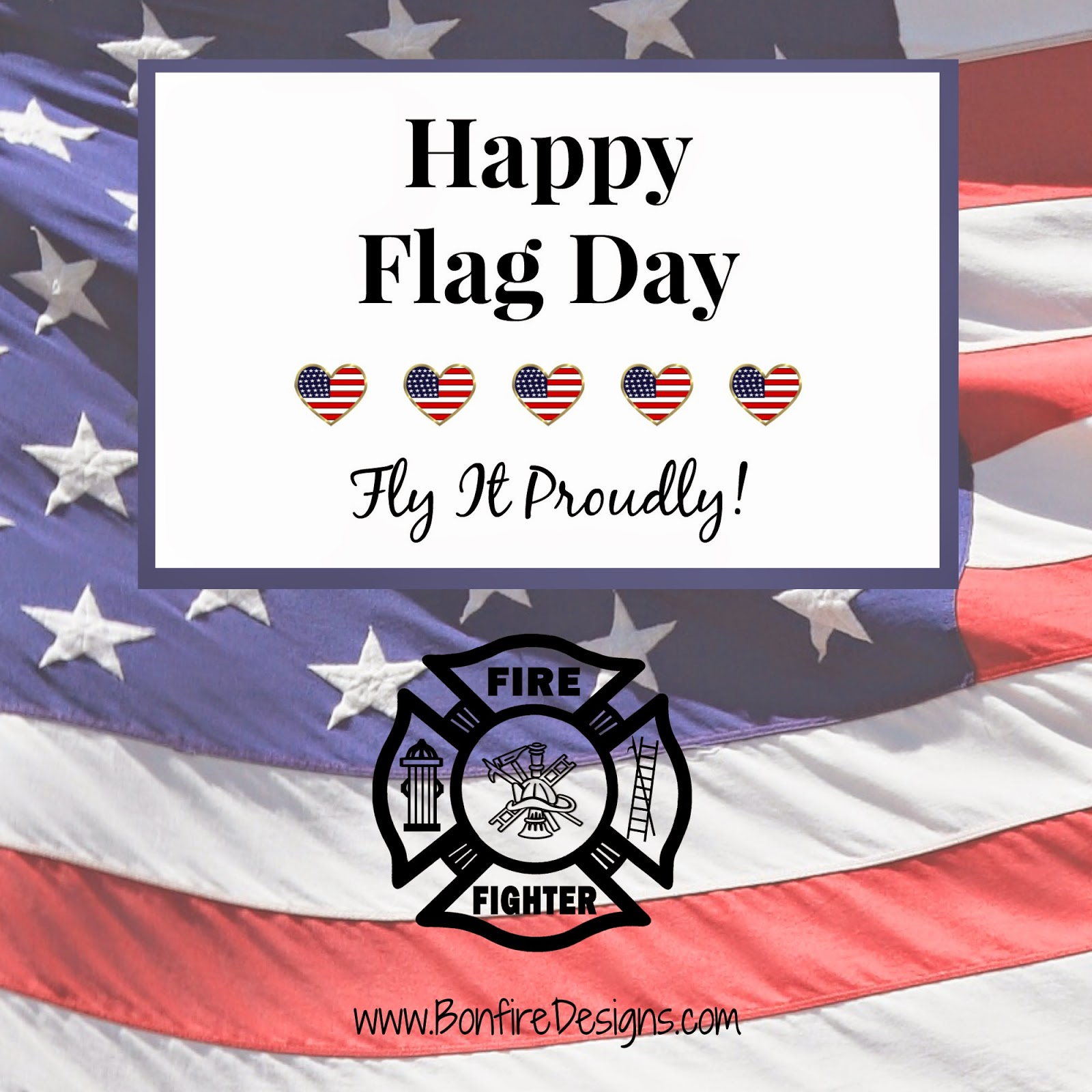 Firefighter Patriotic Pride
