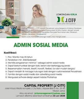 Admin sosial media di J City