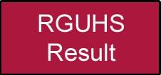 RGUHS Result