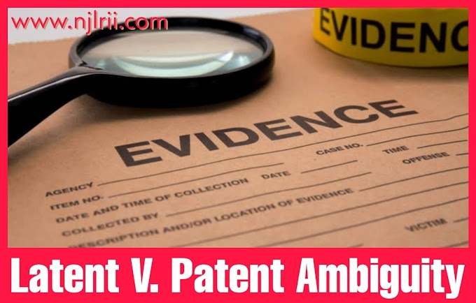 Difference Between Latent and Patent Ambiguity