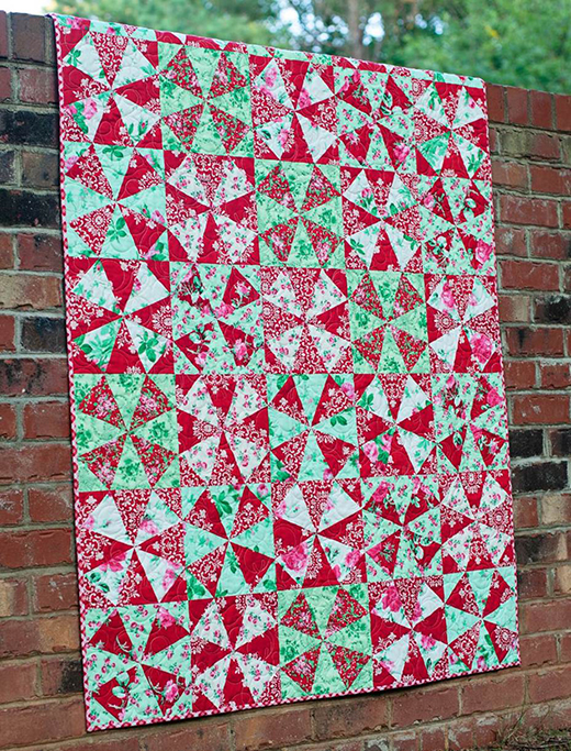 Peppermint Candy Quilt Free Pattern