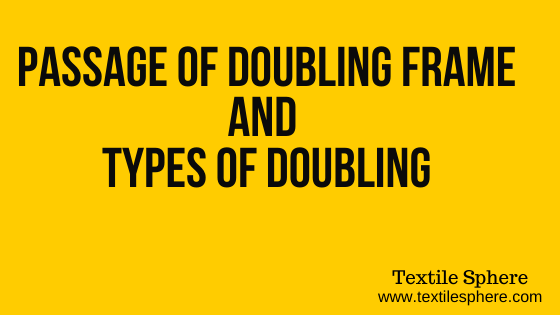 Doubling Frame || Types || Passage