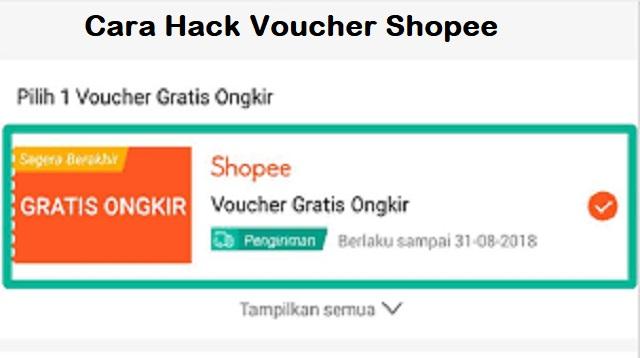 Cara Hack Voucher Shopee